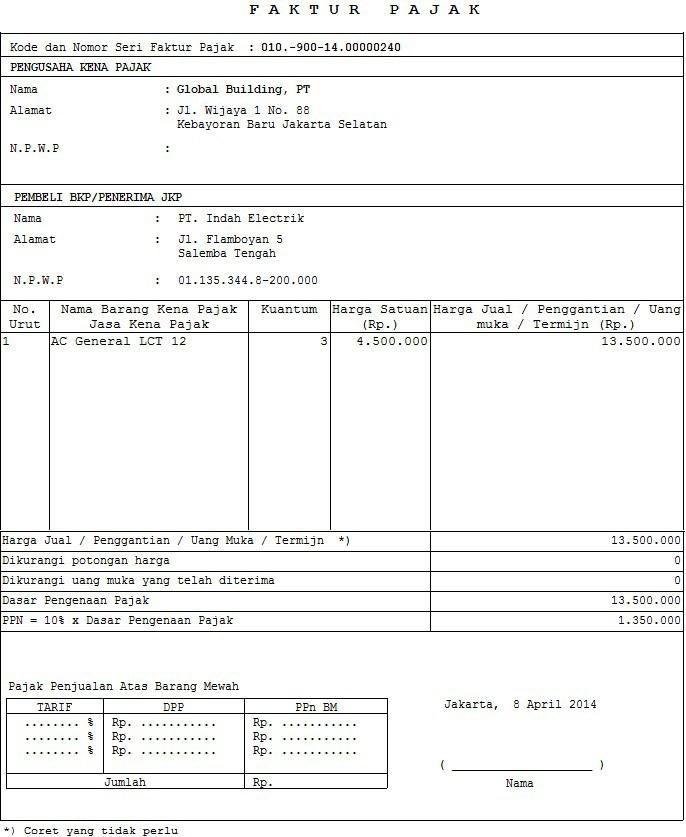 Tax Penjualan Resmi Accurate Accounting Software Akuntansi Indonesia
